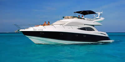 Cancun Luxury Yacht Rental