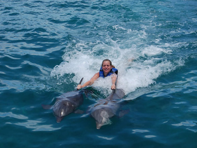Swim with Dolphin in Isla Mujeres, Mexican Caribbean