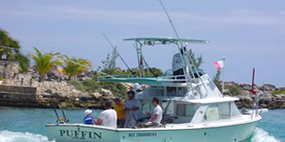 Fishing Yacht for Rent, Activities in Cancun